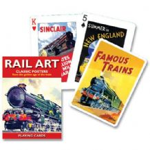 Rail Art Playing Cards